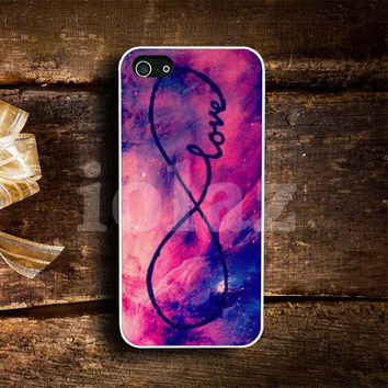 infinity love galaxy Design mobile Phone case
