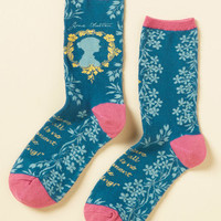 Like Author Like Daughter Socks | Mod Retro Vintage Socks | ModCloth.com