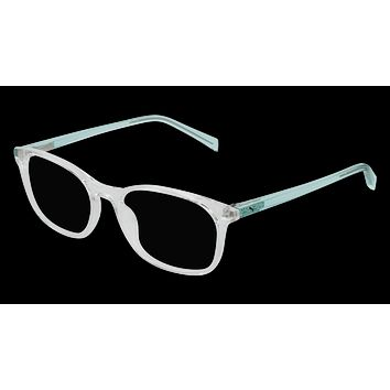 Puma - PJ0031O Crystal Green Eyeglasses / Demo Lenses
