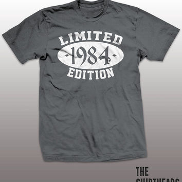 Limited Edition 1984 T-shirt - customize, logo here, men, women, gift, cool tees, funny, established