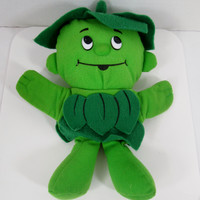 Jolly Green Giant Sprout Felt Hand Puppet by Pillsbury 1992