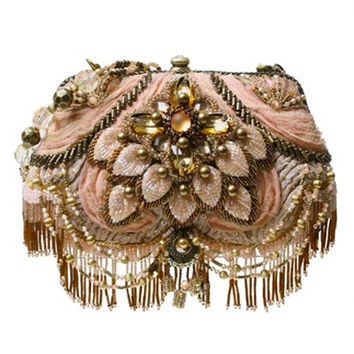 SALE! MARY FRANCES 1920's Style First Blush Handbag - Unique Vintage - Prom dresses, retro dresses, retro swimsuits.