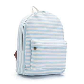 CREYUG3 Canvas Lovely Cute Korean Butterfly Backpack = 4887931652