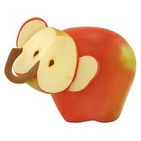 Home Grown from Enesco Apple Elephant Figurine 2.5 IN