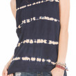 Women's Bamboo Stripe Muscle Tee