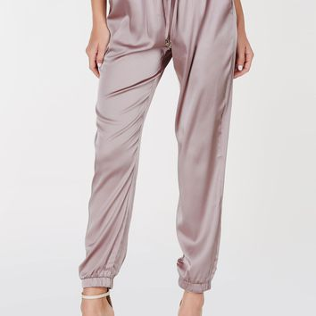 Smooth Operator Satin Joggers