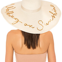 Eugenia Kim Sunny Walking on Sunshine Hat in Ivory | REVOLVE