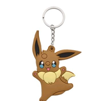 Brand New Video Game Pokemon Eevee Keychain