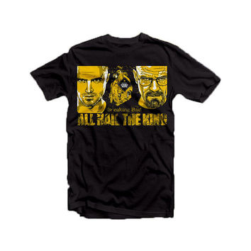 Breaking Bad - All  Hail the King - tee shirt