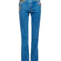 Highrise Stovepipe Denim Pants - Marc Jacobs
