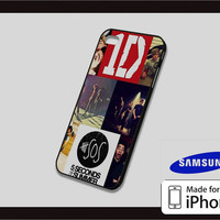 1D and 5SOS Case for iPhone 4/4s iPhone 5/5c and Samsung Galaxy S3/S4