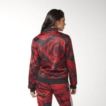 adidas Red Clash Track Jacket | adidas US