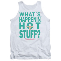 BREAKFAST CLUB/WHATS HAPPENIN - ADULT TANK - WHITE - MD - White -