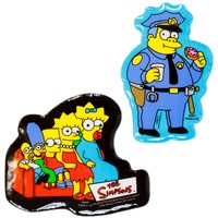 Simpsons - Family & Chief Wiggum Puffy Stickers