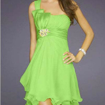 coral colored Chiffon Short Wedding Party Prom Mint new Green cheap purple Bridesmaid Dresses Summer Gowns 2016