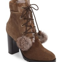 Jimmy Choo Elba Genuine Rabbit Fur Boot (Women) | Nordstrom