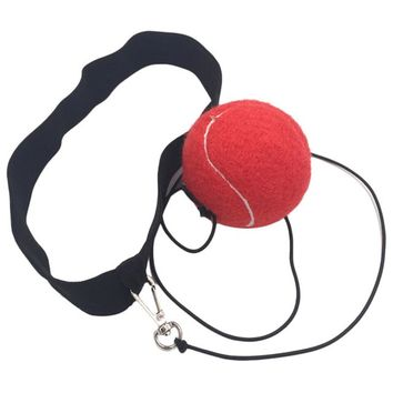 1M Fighting Ball Boxing Equipment with Head Band for Reflex Speed Training Boxing Punch Muay Thai Exercise