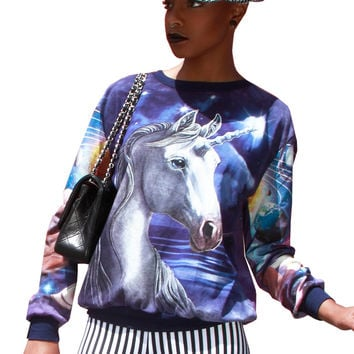Unicorn Galaxy All Over Print Jumper