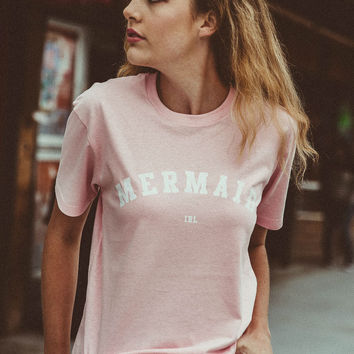 Mermaid IRL Tee - Pink