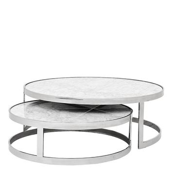 Nesting Marble Coffee Table | Eichholtz Fletcher