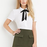 Front Flap Pocket Skirt