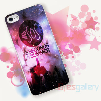 5 SOS, Seconds Of Summer for iPhone 4/4S, iPhone 5/5S, iPhone 5C, iPhone 6 Case - Samsung S3, Samsung S4, Samsung S5 Case
