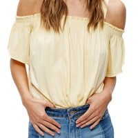 Free People Darling Off the Shoulder Top | Nordstrom