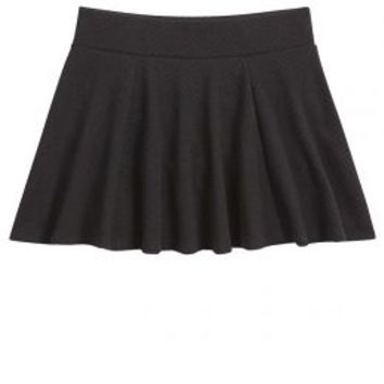 Textured Skater Skirt | Girls Skirts Bottoms | Shop Justice