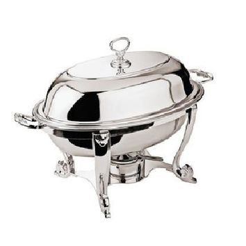 Silver Oval Chafing Dish