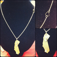 California Golden State Necklace