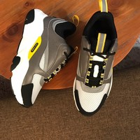 Dior Man popular Casual Shoes Men popular Boots popularable Casual leather Breathable Sneakers