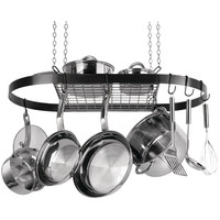 Range Kleen Oval Hanging Pot Rack (black Enamel)