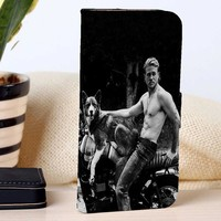 Charlie Hunnam | Actor | Movie | custom wallet case for iphone 4/4s 5 5s 5c 6 6plus 7 case and samsung galaxy s3 s4 s5 s6 case