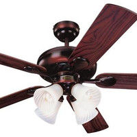 Swirl 52-Inch Reversible Five-Blade Indoor Ceiling Fan