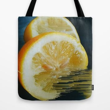 Lemony Good V.2 Tote Bag by Ducky B