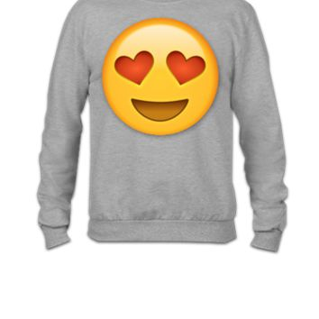 Love Emoji - Crewneck Sweatshirt