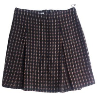 HOUNDSTOOTH SKIRT MIU MIU