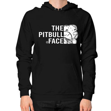 Fashions the pitbull face Hoodie (on man)