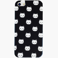 Ankit Meow Iphone 5/5S Case Black/White One Size For Women 26280112501