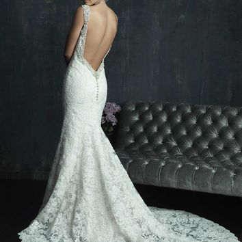 Allure Couture C261 Low Back Wedding Dress