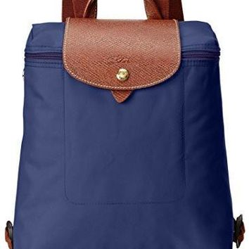 Longchamp Women S Le Pliage Sac ¨¤ Dos Backpack Navy - Beauty Ticks