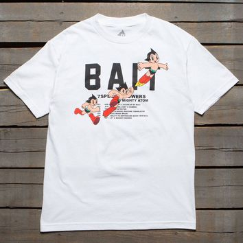 BAIT x Astro Boy Men BAIT Logo Tee (white)