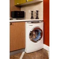 Haier All In One Combination 1.8 cu. ft. High-Efficiency Electric Washer and Ventless Dryer in White-HWD1600BW at The Home Depot