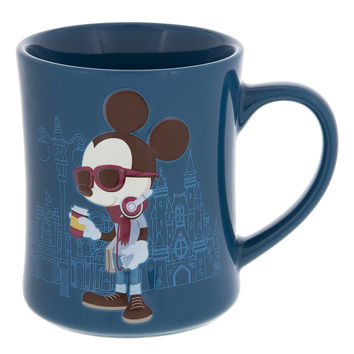 Disney Parks Mickey's Really Swell Coffee Mickey Ceramic Mug New