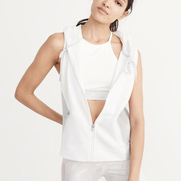 Womens Active Sleeveless Hoodie | Womens Tops | Abercrombie.com
