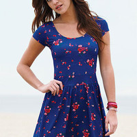dELiAs > Floral Knot-Back Knit Dress > dresses > view all dresses