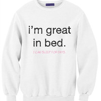 I'm Good In Bed