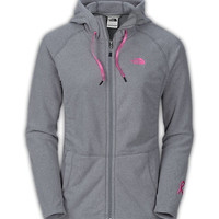 The North Face Women's Shirts & Tops WOMEN'S PINK RIBBON MEZZALUNA HOODIE