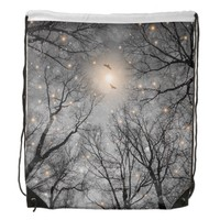 Nature Blazes Before Your Eyes Drawstring Bag