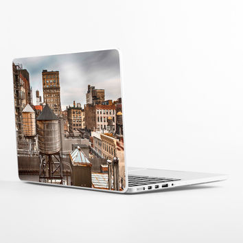 Water Towers in Midtown Laptop Skin